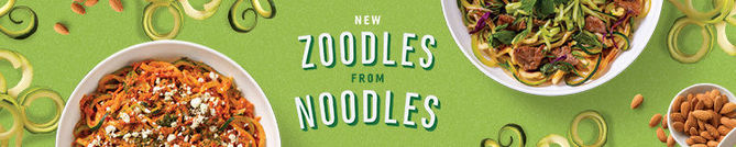 New Zoodles from Noodles