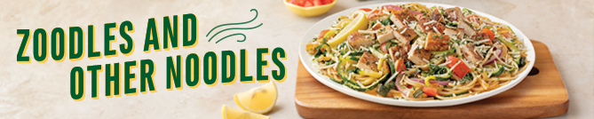 Zoodles and other Noodles