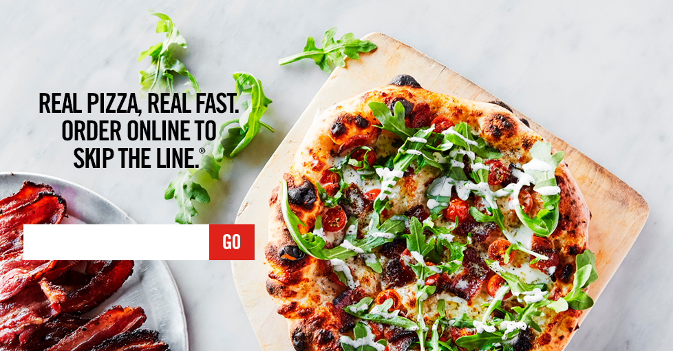 Real Pizza. Real Fast. Order Online to Skip the Line.
